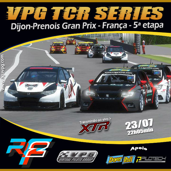 Dijon-Prenois TCR Series
